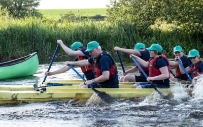 Charity Paddle Fund Raiser for Derwen College